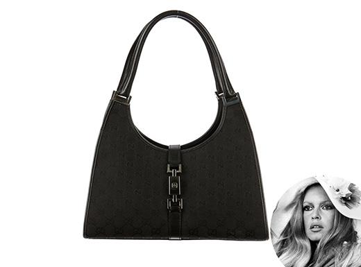 Chiếc túi đeo trên vai này được đặt tên theo nhan sắc huyền thoại Brigitte Bardot.