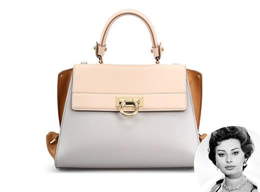 Mặc dù không nhất quán về chính tả nhưng chiếc túi này được đặt tên theo Sofia Loren - người đàn bà đẹp được xem như biểu tượng của phụ nữ Ý.