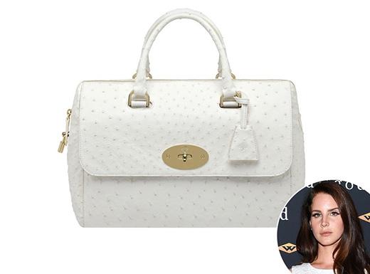 Kiểu túi này được mang tên của nữ ca sĩ Lana Del Ray - người luôn mang những chiếc túi Mulberry trên tay ngọt ngào như những viên kẹo.
