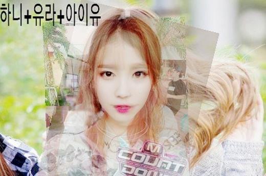 Nếu tổng hợp gương mặt của IU, Yura và Hani thì chúng ta sẽ có được một cô gái đáng yêu như thế này.