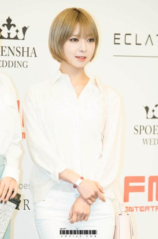 """Không chỉ sở hữu vẻ đẹp sắc sảo đầy ấn tượng, khả năng thanh nhạc của Choa (AOA) cũng được đánh giá cao. Đặc biệt là những nốt cao luôn được cô nàng xử lí rất """"ngọt""""."""
