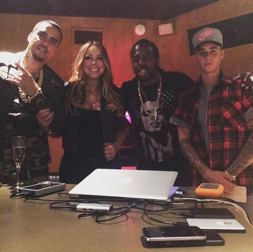 """Fan """"dậy sóng"""" khi nghe Justin Bieber kết hợp cùng diva Mariah Carey"""