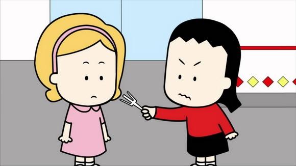 (Ảnh cắt từ phim Angry Litte Girl của tác giả Lela Lee)