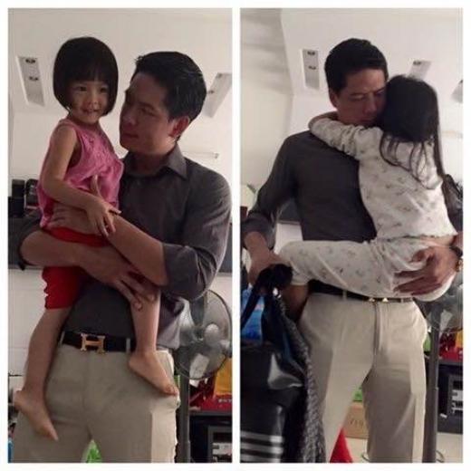 Hình ảnh đời thường giản dị của nam diễn viên bên con gái. - Tin sao Viet - Tin tuc sao Viet - Scandal sao Viet - Tin tuc cua Sao - Tin cua Sao