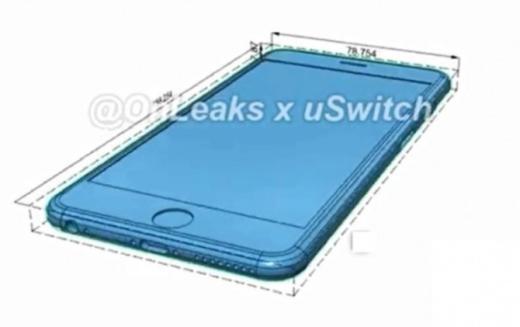 iPhone 7 lộ ảnh thực tế: giống iPhone 6 nhưng dày hơn