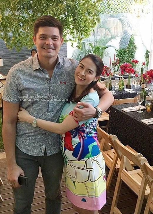 Mĩ nhân đẹp nhất Philippines khóa môi ông xã mừng sinh nhật