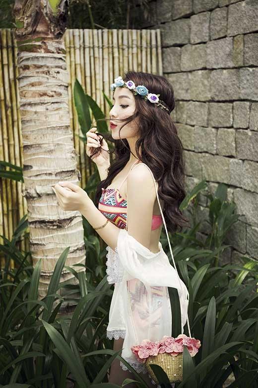 Hoa hậu Kỳ Duyên khoe dáng nuột nà với bikini - Tin sao Viet - Tin tuc sao Viet - Scandal sao Viet - Tin tuc cua Sao - Tin cua Sao
