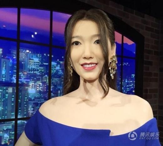 Tượng sáp của Park Shin Hye bị chê xấu thậm tệ
