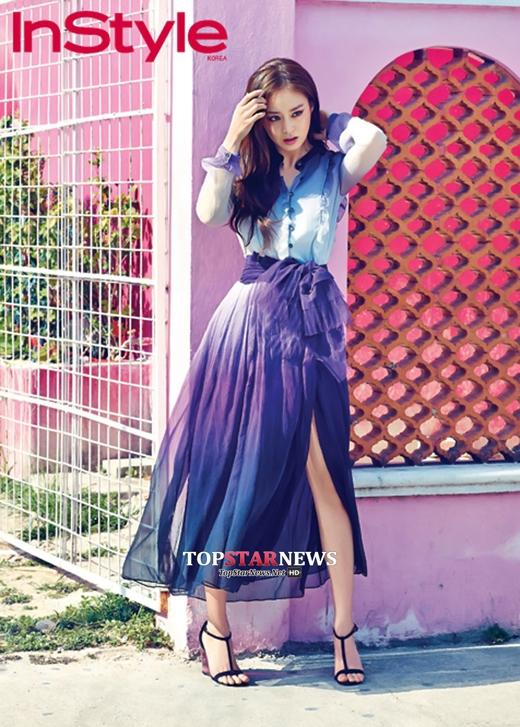 Vẻ đẹp củaKim Tae Heeluôn khiến người hâm mộ xao xuyến