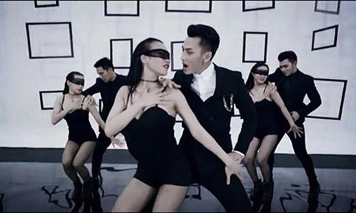 Kim Anh còn tham gia nhảy phụ họa cho MV Mr Right của Isaac. - Tin sao Viet - Tin tuc sao Viet - Scandal sao Viet - Tin tuc cua Sao - Tin cua Sao