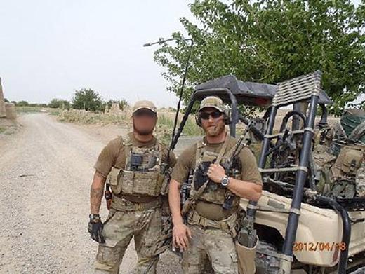 Năm 2012, Taylor nhận được chỉ thị ra chiến trận và đó là chuyến đi đầu tiên cũng có thể là cuối cùng của anh trong sự nghiệp quân sự của mình. Một lần dẫn nhóm đi khám xét khu vực, không may Taylor dẫm phải một quả bom và chân tay anh đã bịnổ tung. Nhưng trong cái rủi có cái may, thần chết đã không lấy đi mạng sống của Taylor.