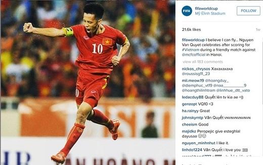 FIFA ca ngợi Văn Quyết với bàn thắng vào lưới Man City