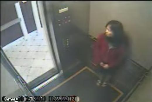 Đoạn cắt trong đoạn phim quay ở thang máy được công bố.