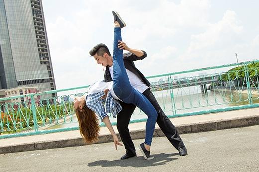 Minh Hằng-Phan Hiểnphô diễn các bước nhảy điêu luyện. - Tin sao Viet - Tin tuc sao Viet - Scandal sao Viet - Tin tuc cua Sao - Tin cua Sao