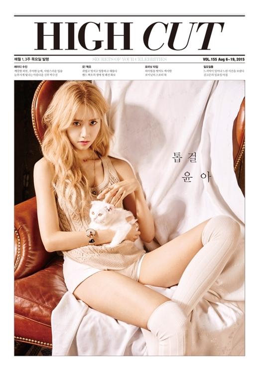 """Rũ bỏ hình tượng đáng yêu, Yoona tóc vàng quyến rũ """"hớp hồn"""" fan"""