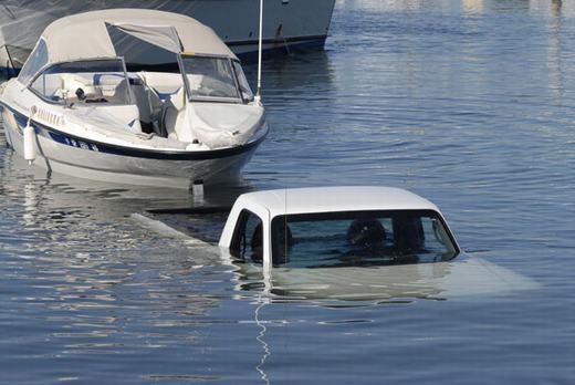 Ô tô đã có thể lội nước sao?
