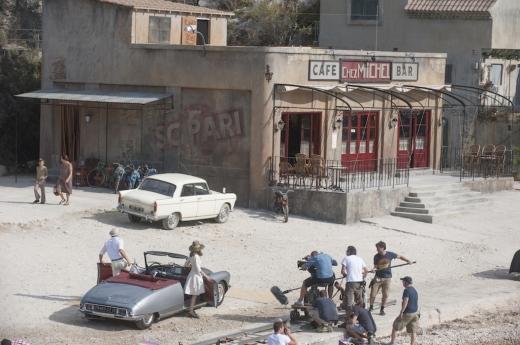 Một số hình ảnh hậu trường của bộ phim.