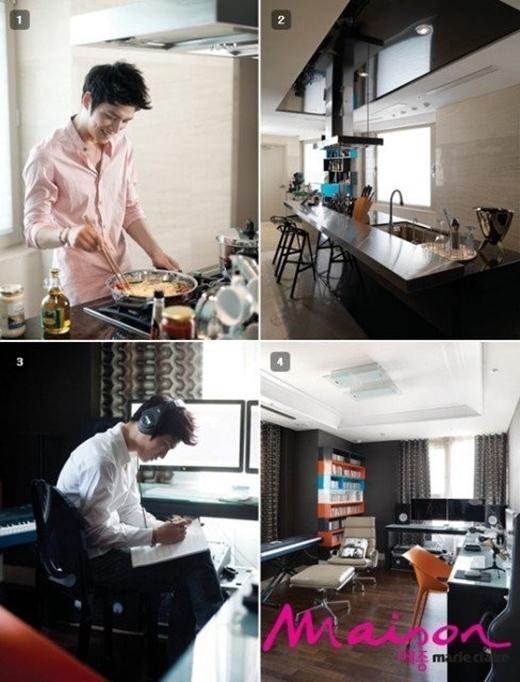 Sở thích nấu nướng và sưu tầm đồ dùng nấu ăn, gia dụng cao cấp cũng phản ánh tính cách cầu toàn, kĩ tính của Jaejoong.