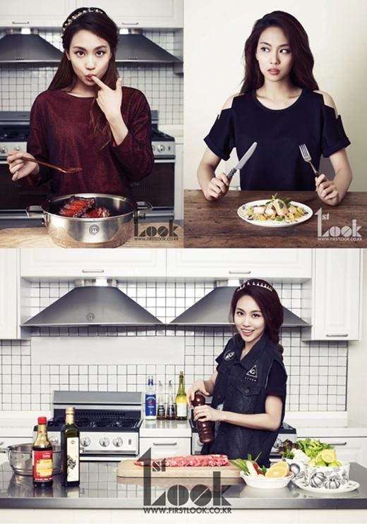 Chắc hẳn các fan của Miss A đã không còn xa lạ với tài năng nấu nướng của Fei. Đây cũng chính là lí do giúp cô nàng giành về vai trò MC cho cuộc chi Master Chef phiên bản Hàn.