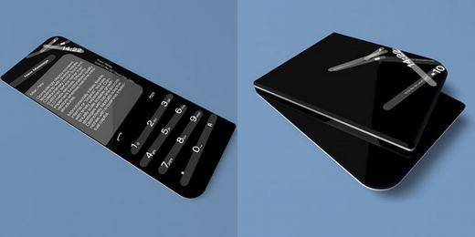 Mẫu điện thoại này ngoài sự mỏng manh và sang trọng, nó có thể gập lại rất nhỏ gọn.