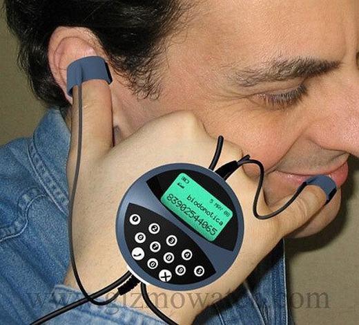 Điện thoại trong tương lai có thể được nghe như thế này...