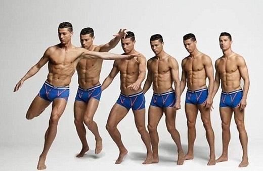Ronaldo lại tung loạt ảnh nóng bỏng khiến chị em phát thèm