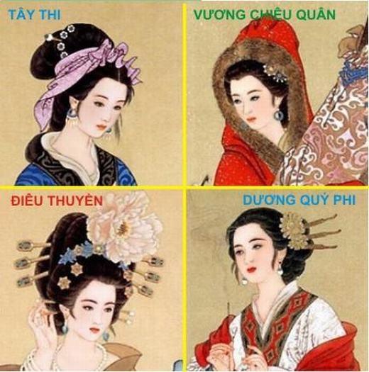 Bạn có biết tứ đại mĩ nhân (những người có sắc đẹp làm khuynh đảo cả một đất nước, thay đổi cả lịch sử một quốc gia) của Trung Quốc là ai không? Đó là Tây Thi, Vương Chiêu Quân, Điêu Thuyền và Dương Quý Phi. Trong đó nhiều tranh cãi cho rằng Tây Thi chỉ là nhân vật hư cấu.