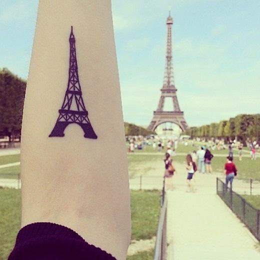 Tháp Eiffel, điểm đến trong mơ của đa số mọi người.
