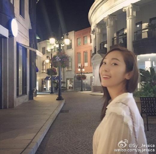 Jessica khoe ảnh trấn an fan ngay sau khi chấm dứt hợp đồng với SM.