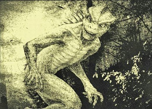 """Sốc: Phát hiện """"thần thằn lằn"""" bằng xương bằng thịt"""