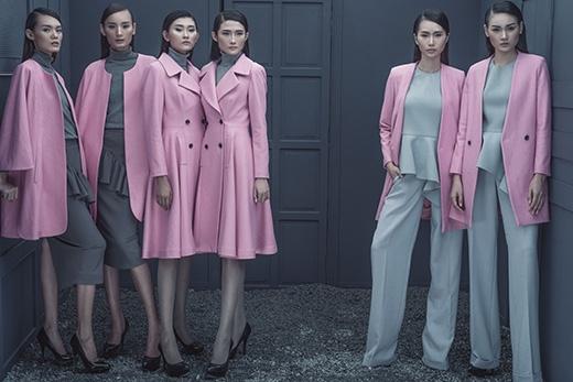 Bộ sưu tập Thu - Đông 2014 của nhà thiết kếĐỗ Mạnh Cường với tên gọi The Twins.