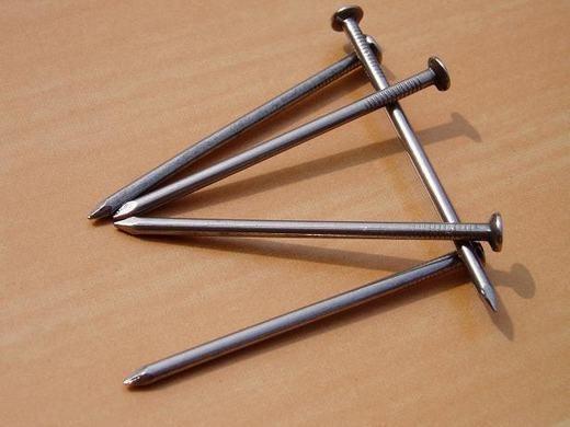 Lượng sắt có trung bình trong mỗi người đủ để làm ra một chiếc đinh dài 3inches (7,6 cm).