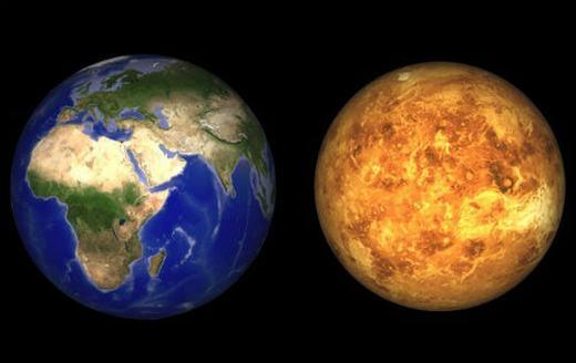 Tất cả hành tinh trong hệ mặt trời đều xoay theo chiều kim đồng hồ trừ Sao Kim.