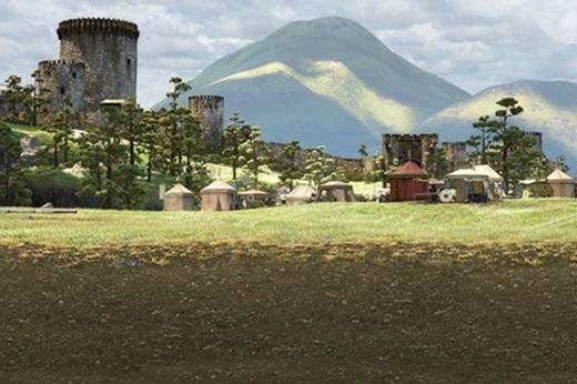 Bạn có nhớ ngôi làng này xuất hiện lúc nào trong phim Brave không?