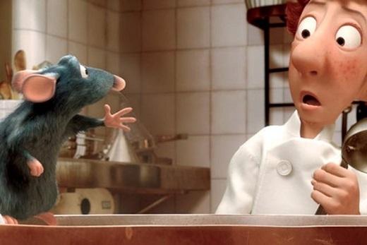 Chắc hẳn bạn chưa quên được chú chuột đầu bếp Remy tài ba và chàng phụ bếp hậu đậu Linguini với những cảnh đường phố tuyệt đẹp của Paris, Pháp trong bộ phim hoạt hình Ratatouille.