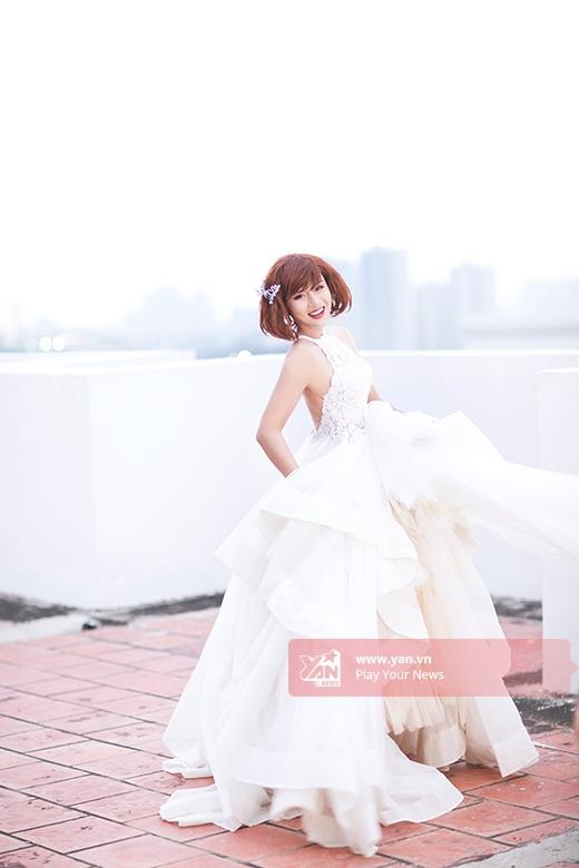 Trọn bộ ảnh Cô giáo Khánh hoá cô dâu độc thân