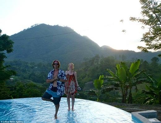 Trước khi đến Sunseed, Erik đã dừng chân ở Guatemala, Uruguay và Cuba.