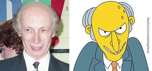 Và nếu Mr. Burns có ở ngoài đời, thì chắc hẳn sẽ trông như thế này.