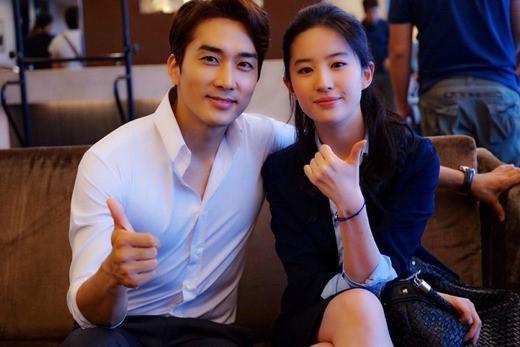 Song Seung Hun muốn tổ chức đám cưới trong mơ cùng Lưu Diệc Phi
