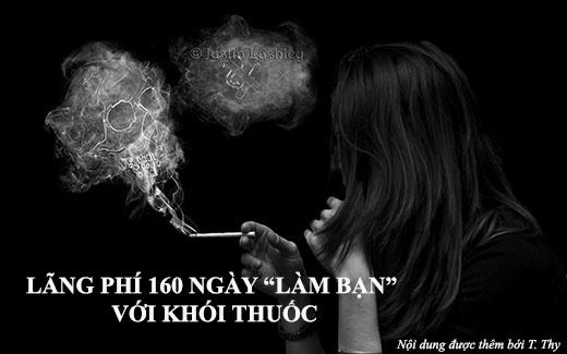 Dù biếthút thuốc có hại cho sức khỏe nhưng chúng ta không thể nào từ bỏ thói quen này.