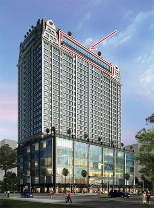 Căn hộ penthouse Thu Minh sắp dọn tới nằm tại tầng cao nhất trong một tòa nhà trên con đường trung tâm TP.HCM - Tin sao Viet - Tin tuc sao Viet - Scandal sao Viet - Tin tuc cua Sao - Tin cua Sao