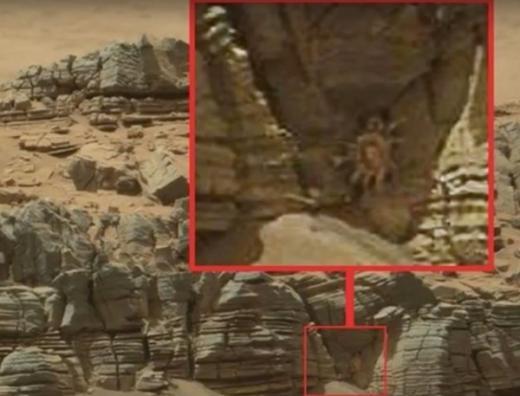 """Giải mã bí ẩn """"người ngoài hành tinh"""" xuất hiện trên sao Hỏa"""
