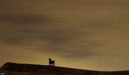 Mưa sao băng Perseids ởCordoba, Tây Ban Nha.