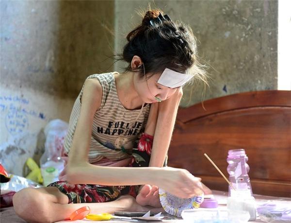 Rớt nước mắt trước ước mơ giản đơn của cô bé mắc bệnh hiểm nghèo