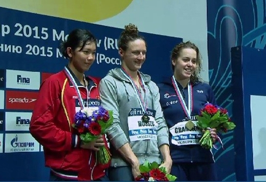 Ánh Viên xuất sắc giành HCB 400m hỗn hợp ở Cúp thế giới