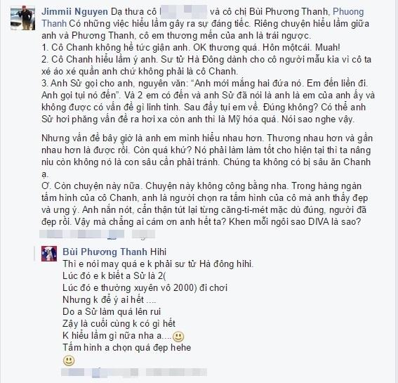Jimmii Nguyễn và Phương Thanh trần tình sự việc. - Tin sao Viet - Tin tuc sao Viet - Scandal sao Viet - Tin tuc cua Sao - Tin cua Sao