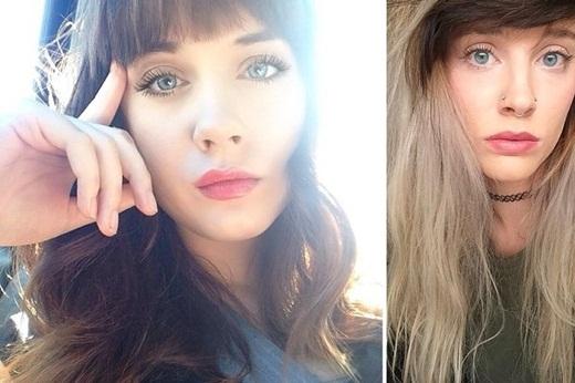 Ngỡ ngàng hai cô gái xa lạ giống nhau như hai giọt nước