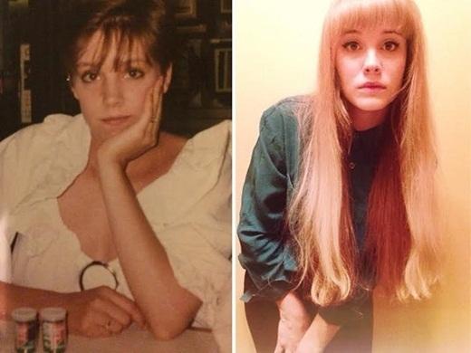Thậm chí, mũi của Meredith còn giống với mũi của mẹ Amanda hơn cô ấy.