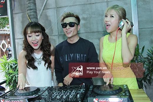 Trang Pháp, Băng Di phát cuồng vì DJ hot của The Remix - Tin sao Viet - Tin tuc sao Viet - Scandal sao Viet - Tin tuc cua Sao - Tin cua Sao