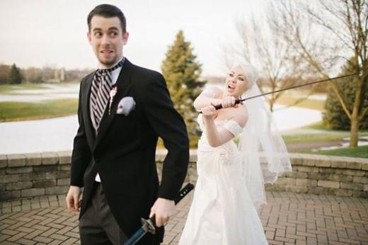 Đám cưới của các kiếm sĩ chăng?